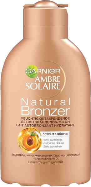 Garnier, »Ambre Solaire Natural Milch«, Selbstbräuner