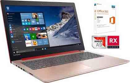 Ideapad 320-15AST inkl. Office 365 Personal und 3 Jahre Garantie