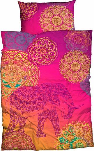 Bettwäsche »Noida«, sister s., mit farbenfrohen Mandalas
