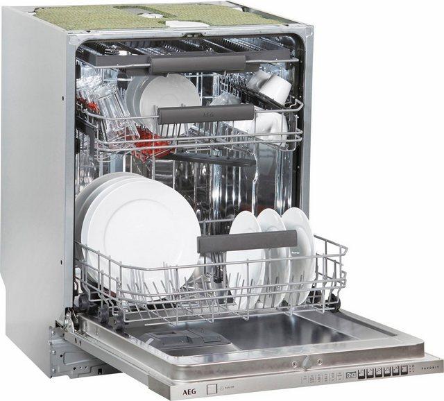 AEG vollintegrierbarer Geschirrspüler, FSE63720P, 11 l, 15 Maßgedecke | Küche und Esszimmer > Küchenelektrogeräte > Gefrierschränke | AEG