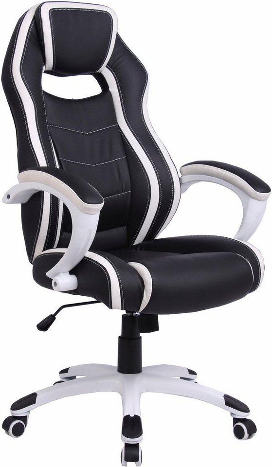Racing Gamer Chair Silver Moderne Bicolor Optik Online Kaufen