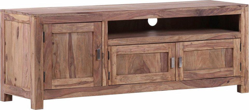 gutmann factory tv lowboard inka aus massivem sheesham holz breite 160 cm online kaufen otto. Black Bedroom Furniture Sets. Home Design Ideas