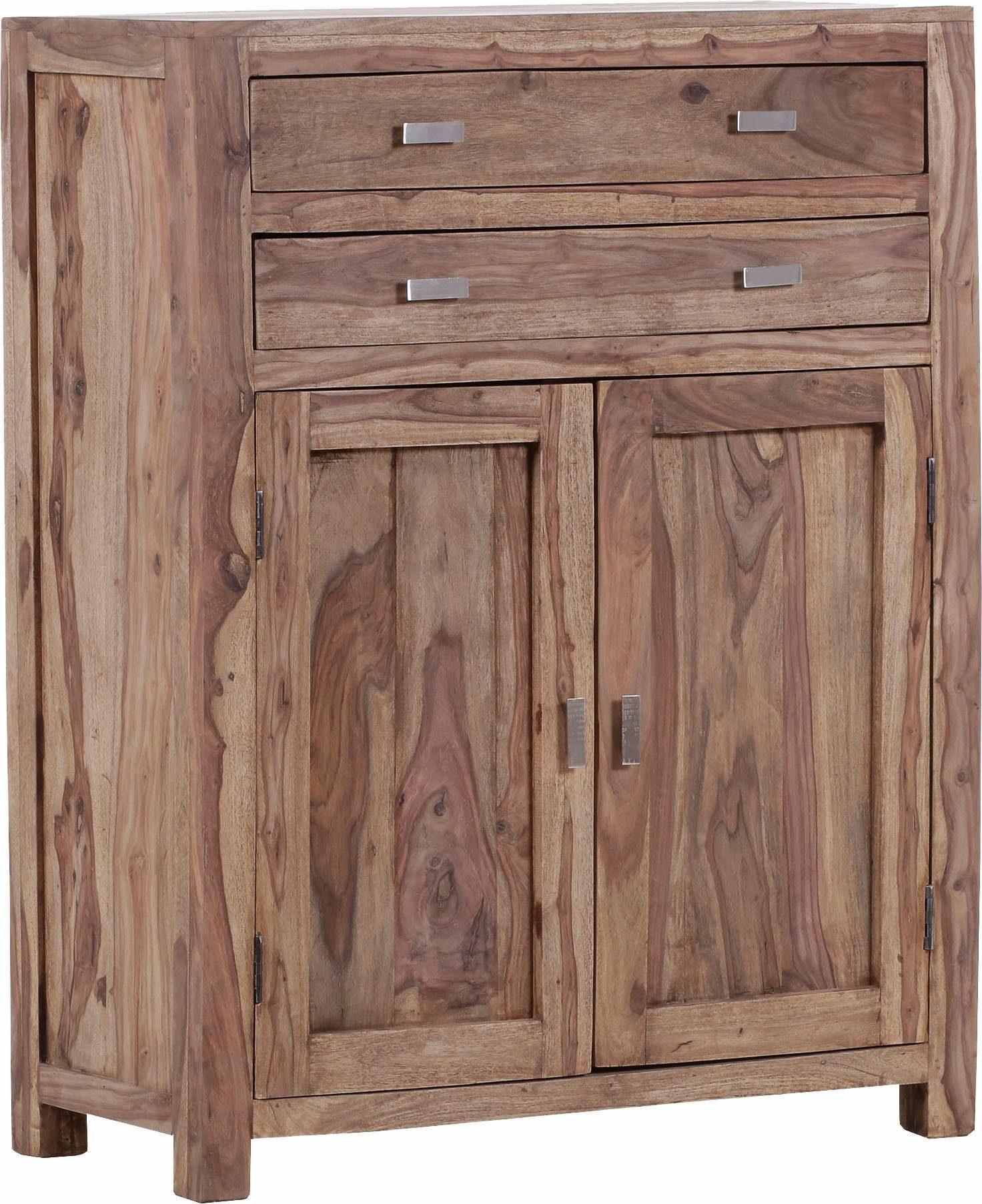 Gutmann Factory Kommode »Inka« aus massivem Sheesham Holz, Breite 90 cm