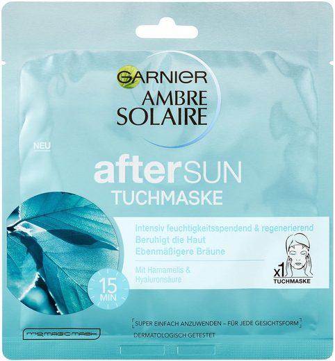 GARNIER After Sun-Maske »Ambre Solaire After Sun Tuchmaske«