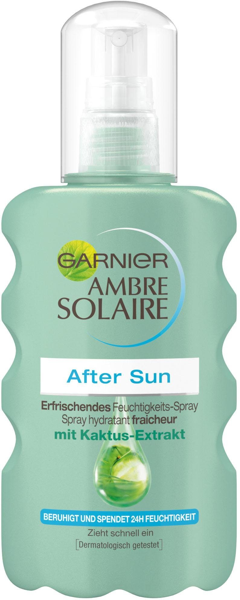 GARNIER After Sun-Spray »Ambre Solaire Feuchtigkeits-Après«, mit Kaktus-Extrakt