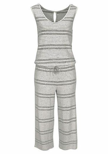 LASCANA Culotte-Jumpsuit mit breiten Trägern
