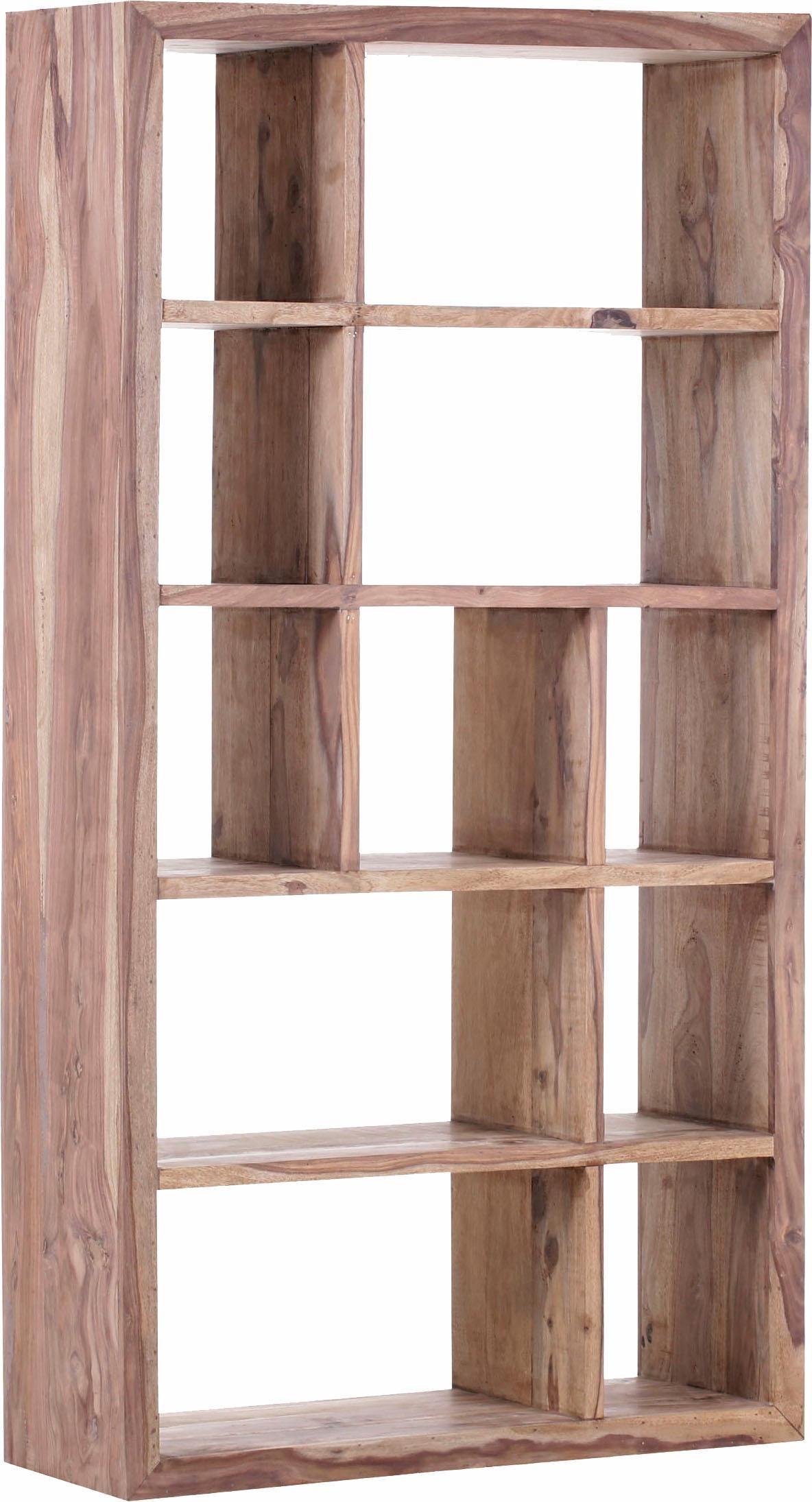 Gutmann Factory Raumteiler »Inka« aus massivem Sheesham Holz, Höhe 180 cm | Wohnzimmer > Regale > Raumteiler | Gutmann Factory