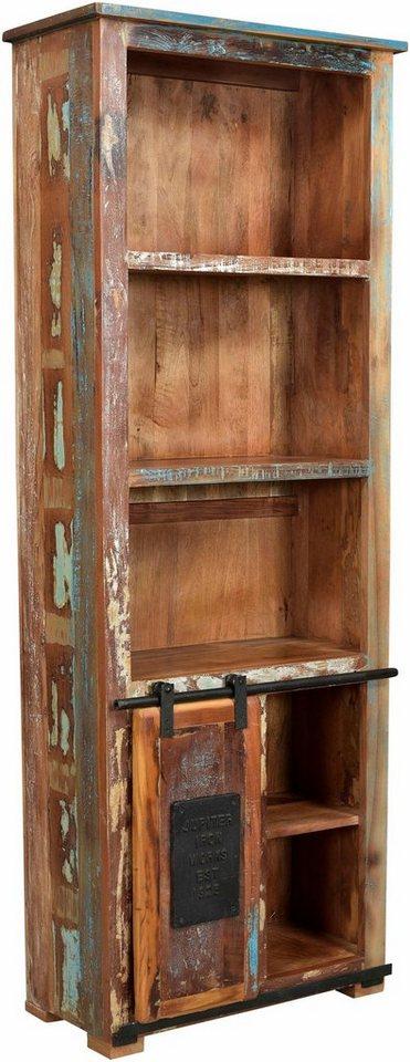 sit regal jupiter aus recyceltem altholz h he 151 cm online kaufen otto. Black Bedroom Furniture Sets. Home Design Ideas