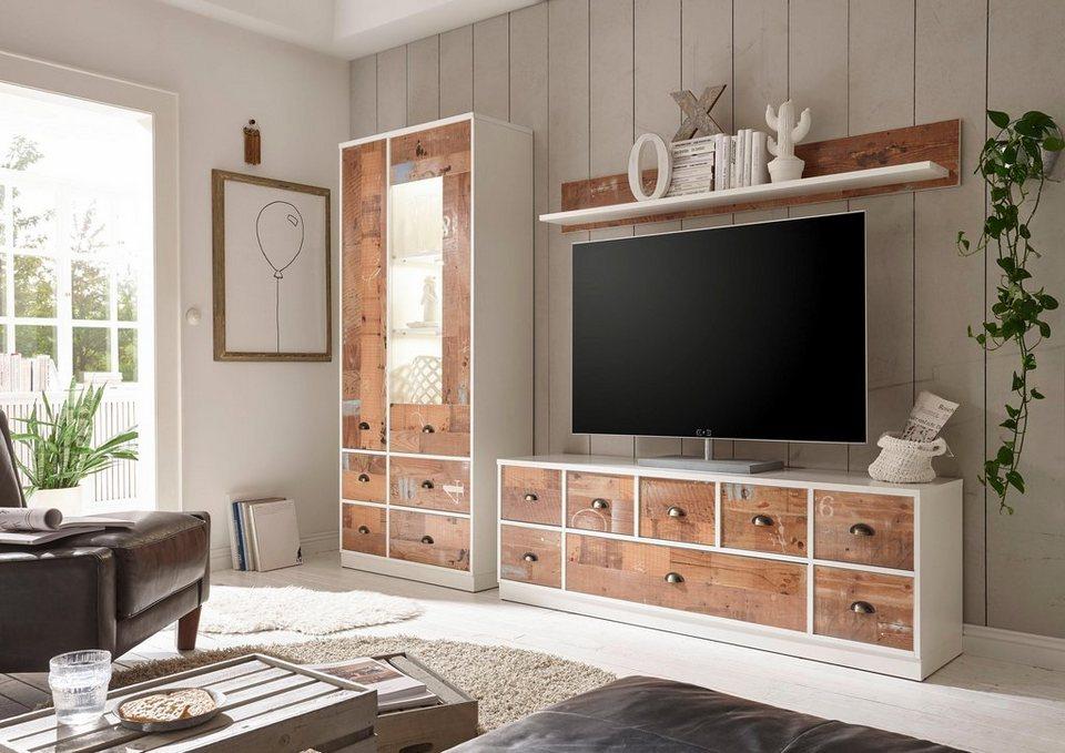 wohnwand 3 teilig danni online kaufen otto. Black Bedroom Furniture Sets. Home Design Ideas