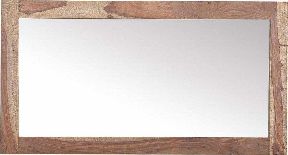 gutmann factory spiegel inka mit sheesham holzrahmen. Black Bedroom Furniture Sets. Home Design Ideas