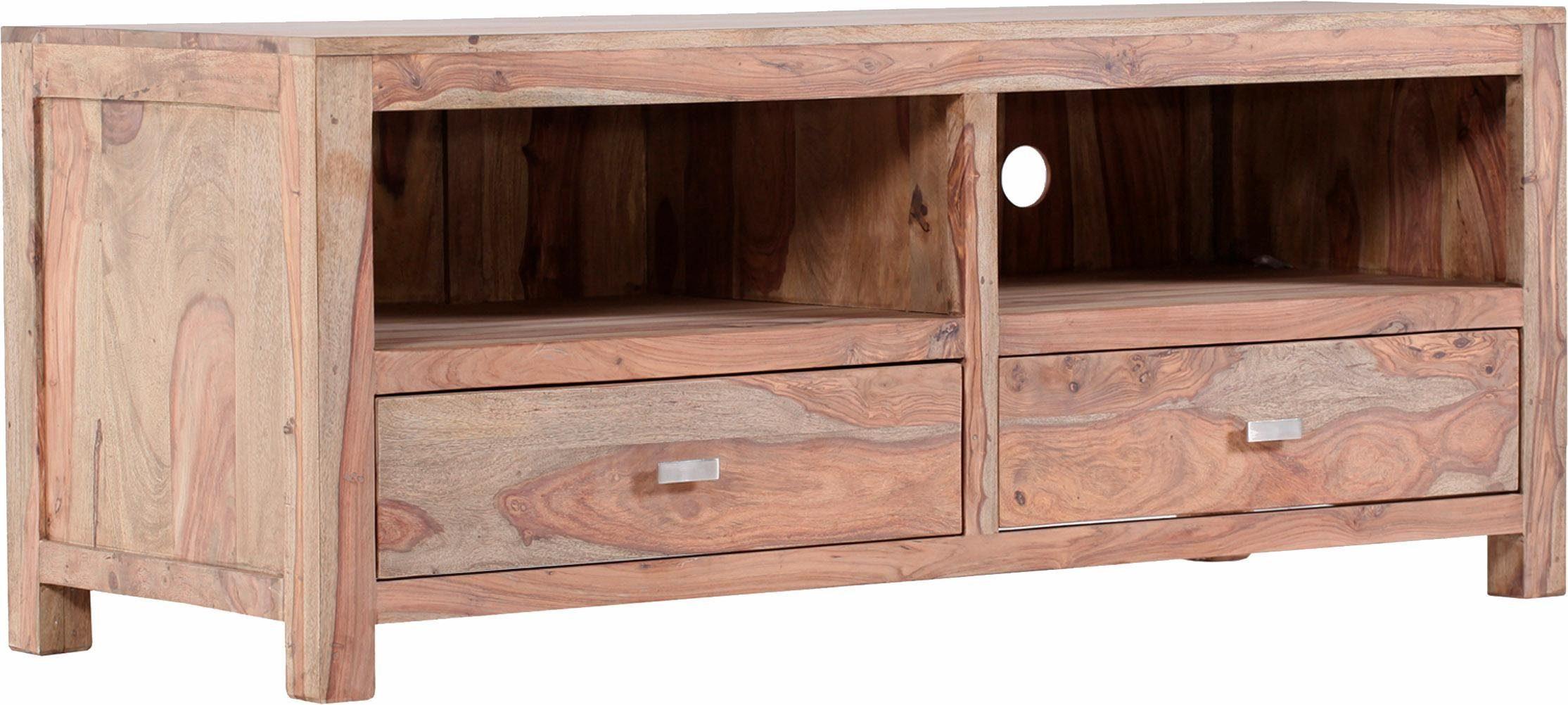Gutmann Factory Lowboard »Inka« aus massivem Sheesham Holz, Breite 150 cm