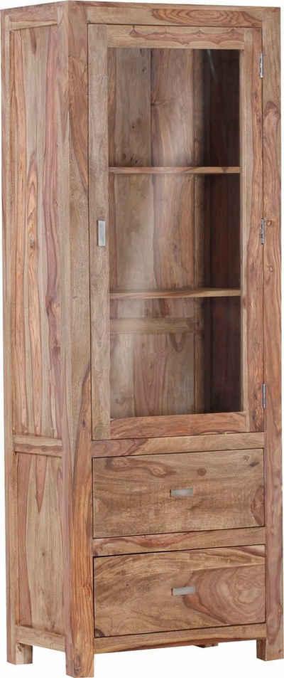 Gutmann Factory Vitrine »Inka« aus massivem Sheesham Holz