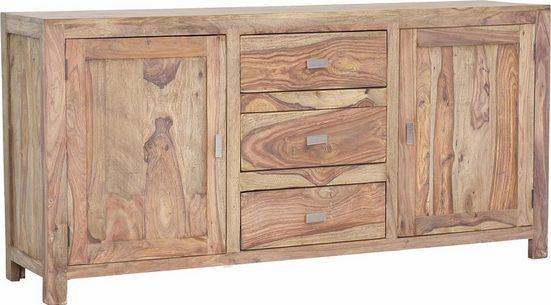 Gutmann Factory Sideboard »Inka« aus massivem Sheesham Holz, Breite 175 cm