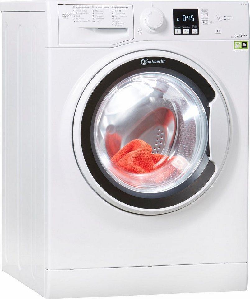 bauknecht waschmaschine wa soft 8f41 8 kg 1400 u min. Black Bedroom Furniture Sets. Home Design Ideas