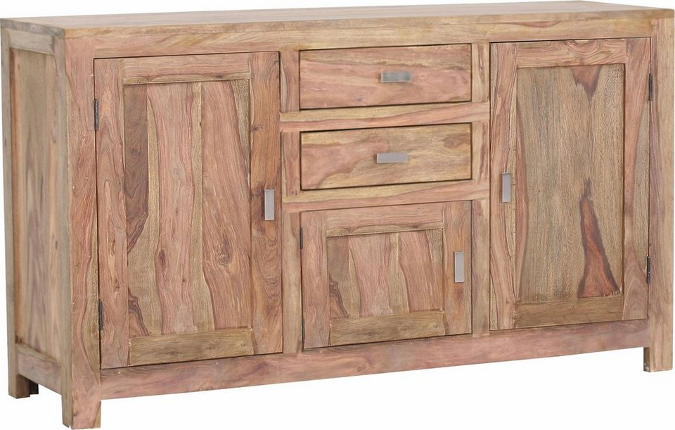 Gutmann Factory Sideboard »Inka« aus massivem Sheesham Holz, Breite ...