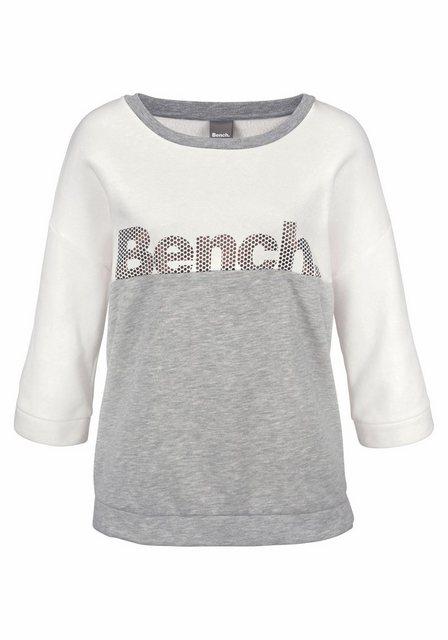 Damen Bench. Sweatshirt im Color Blocking Design  | 04260406769628
