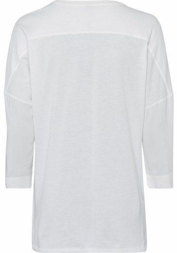 Key Largo Shirtbluse Sonja, Mit Pailletten