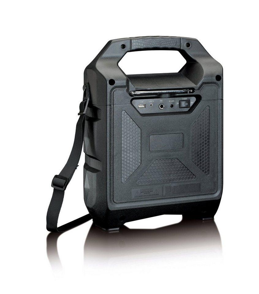 Lenco Mobiler Bluetooth Lautsprecher, FM Radio, USB »PA-30« online ...