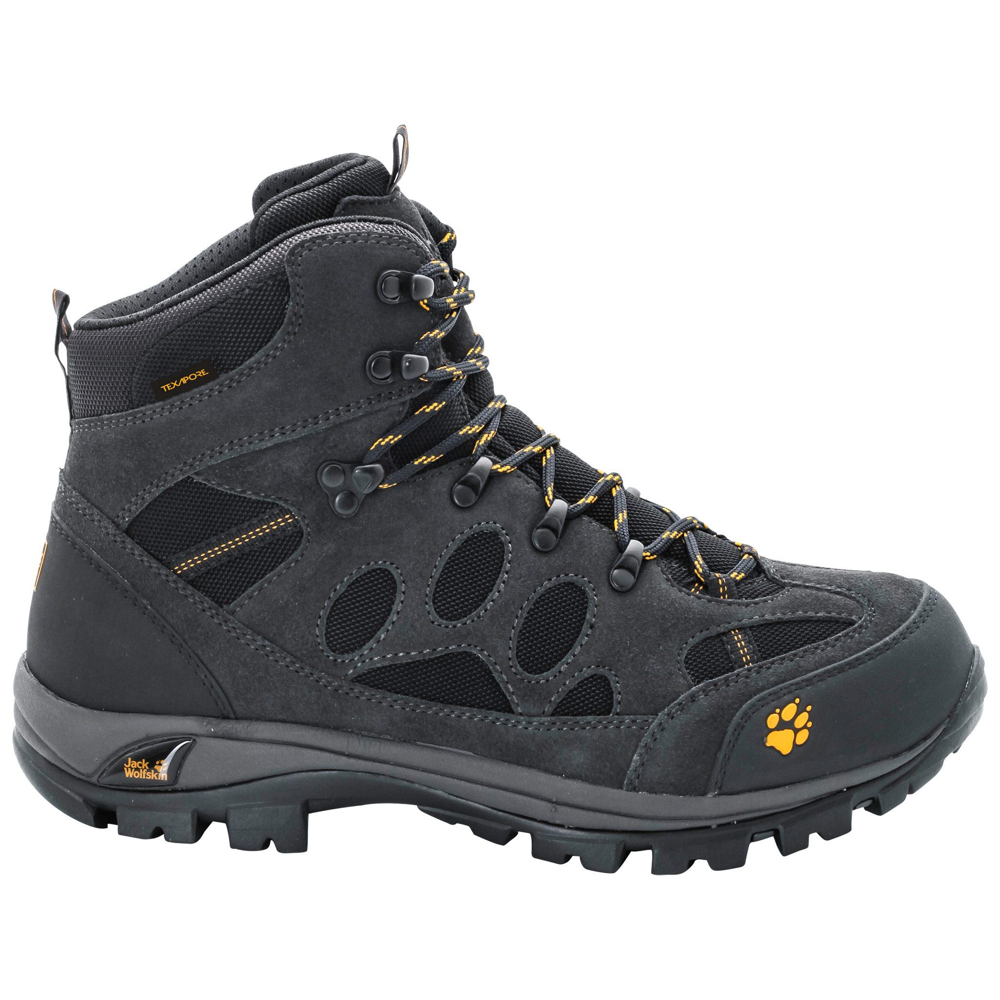 Jack Wolfskin ALL TERRAIN 7 TEXAPORE MID M Trekkingschuh online kaufen  dunkelgrau