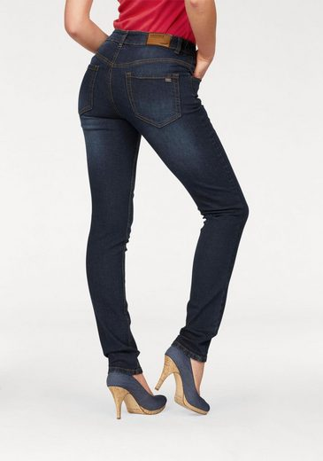 fit High Arizona Gummizugeinsatz« Waist Mit Slim jeans »svenja Seitlichem Bund fn5pqF8