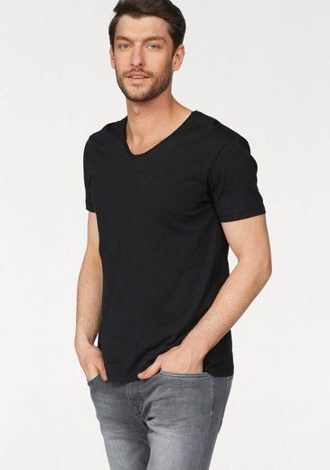 edc by Esprit T-Shirt mit Markenlabel