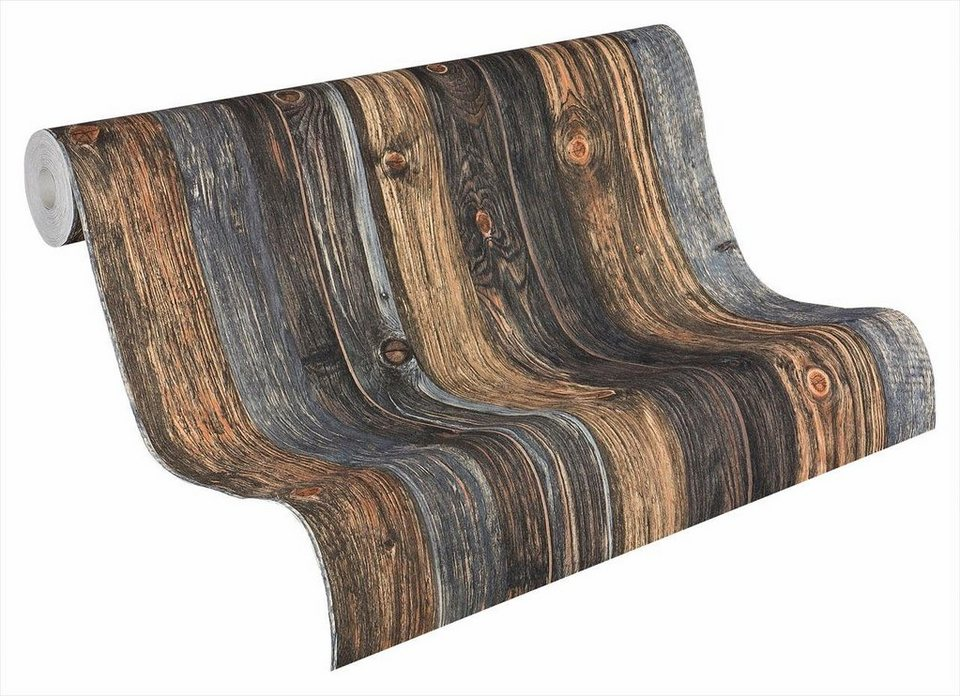 vliestapete livingwalls brettertapete luxus otto. Black Bedroom Furniture Sets. Home Design Ideas