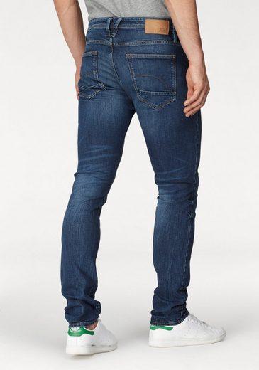edc by Esprit Slim-fit-Jeans mit Wascheffekten