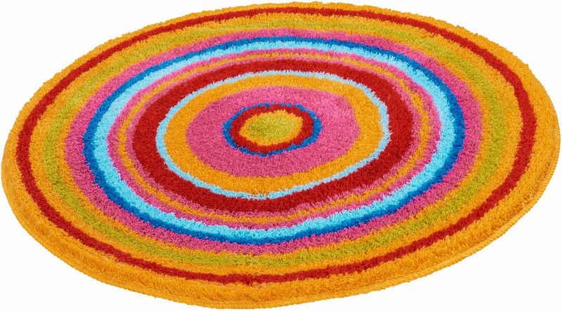 Badematte »Mandala« Kleine Wolke, Höhe 20 mm, rutschhemmend beschichtet, fußbodenheizungsgeeignet