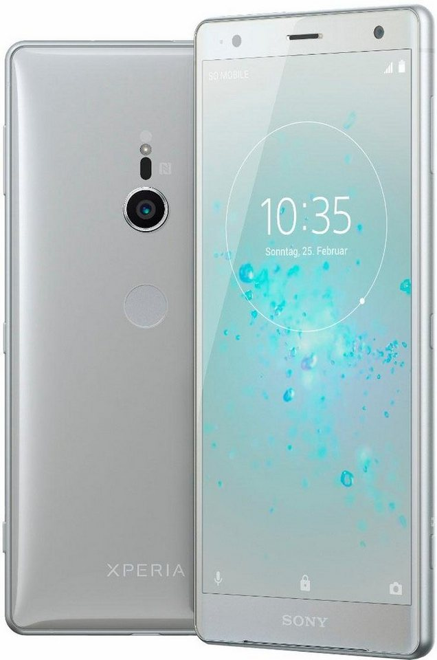 sony xperia xz2 smartphone 14 5 cm 5 7 zoll 64 gb. Black Bedroom Furniture Sets. Home Design Ideas