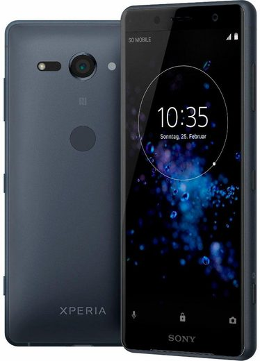 Sony Xperia XZ2 compact Smartphone (12,7 cm/5 Zoll, 64 GB Speicherplatz, 19 MP Kamera)