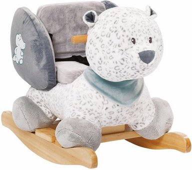 Nattou Schaukeltier »Léa der Schneeleopard«