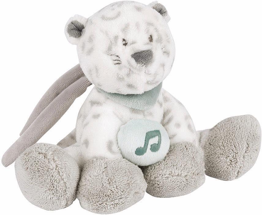 NATTOU Minispieluhr, »Léa der Schneeleopard«