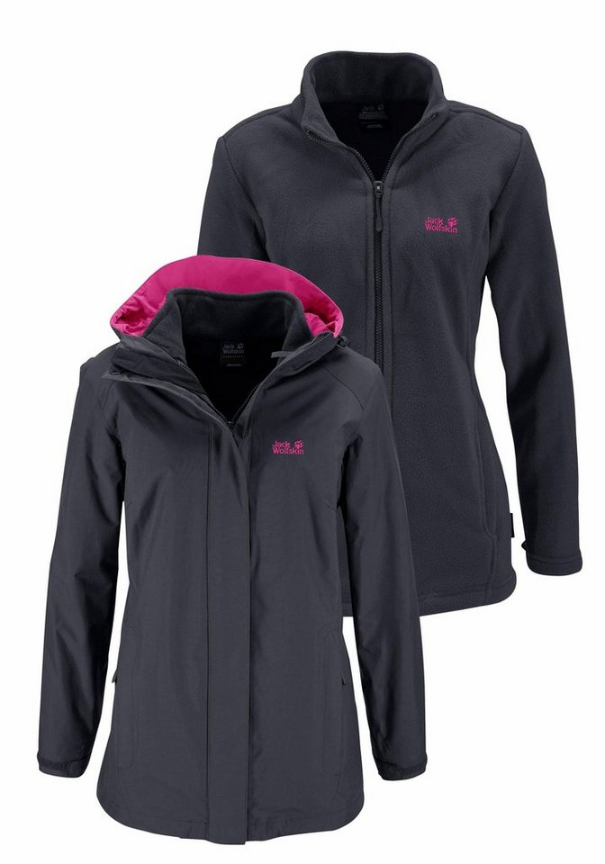 a9cefb58e884a Jack Wolfskin 3-in-1-Funktionsjacke »MANAPOURI« (Set