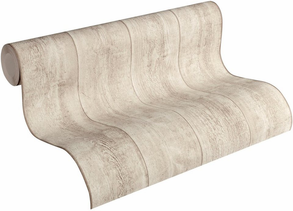 vliestapete livingwalls tapete best of wood n stone in vintage holz optik online kaufen otto. Black Bedroom Furniture Sets. Home Design Ideas