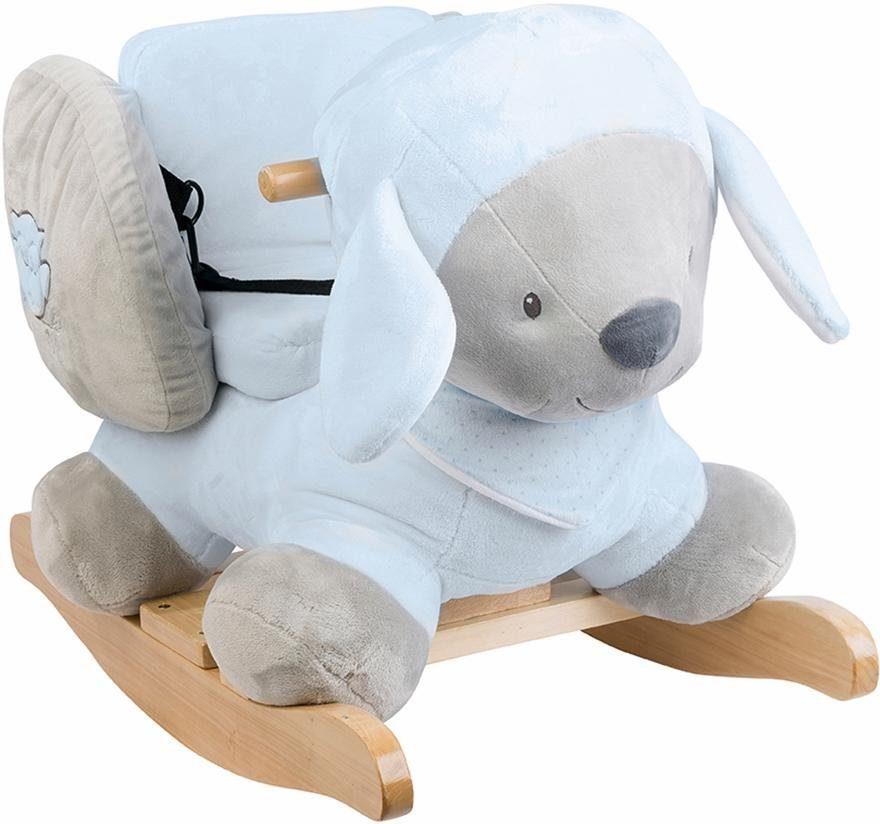 Nattou Baby Buch Plüsch Holzspielzeug