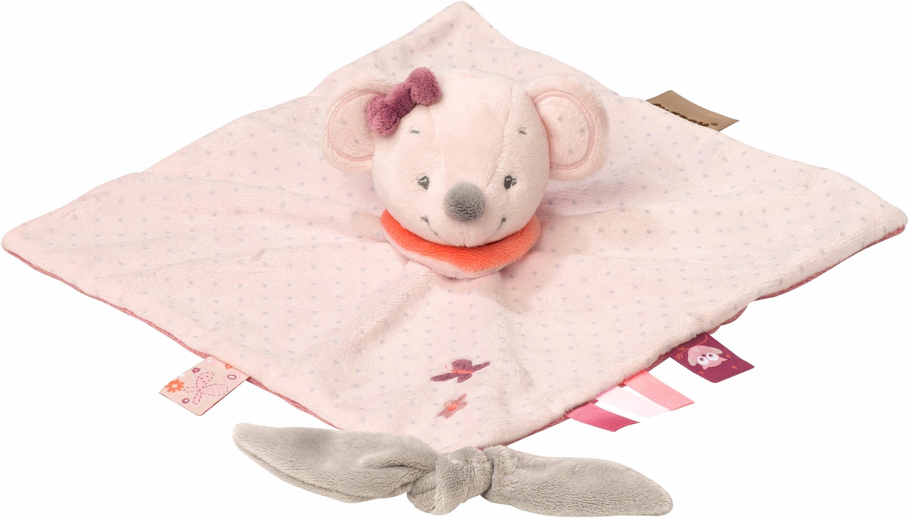 NATTOU Kuscheltuch, »Valentine die Maus«