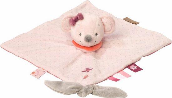 Nattou Kuscheltuch »Valentine die Maus«, (1-tlg), mit Schnullerhalter