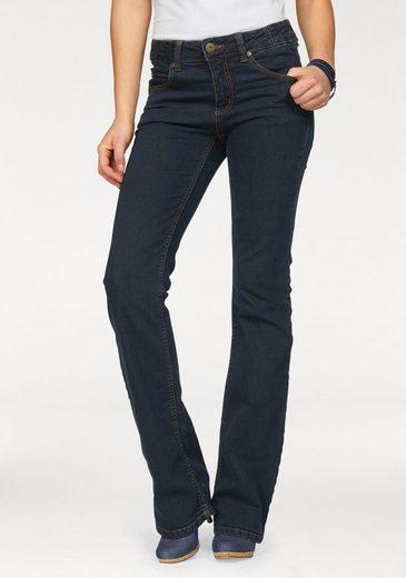 Arizona Bootcut Jeans Svenja - Bund With Side Gummizugeinsatz, High Waist