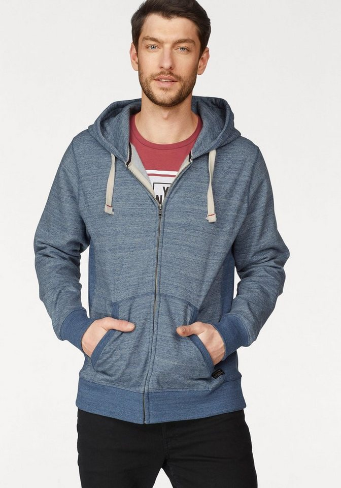 d23e54fcfe45a9 Jack   Jones Kapuzensweatshirt »Space Melange Sweat Zip Hood« online ...