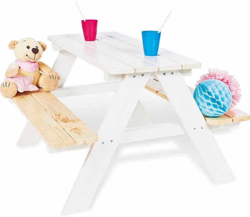 Pinolino® Kindersitzgruppe »Nicki für 4, weiß«, Made in Europe