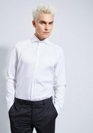 Otto Kern Oxford Hemd mit Haifischkragen - Slim Fit