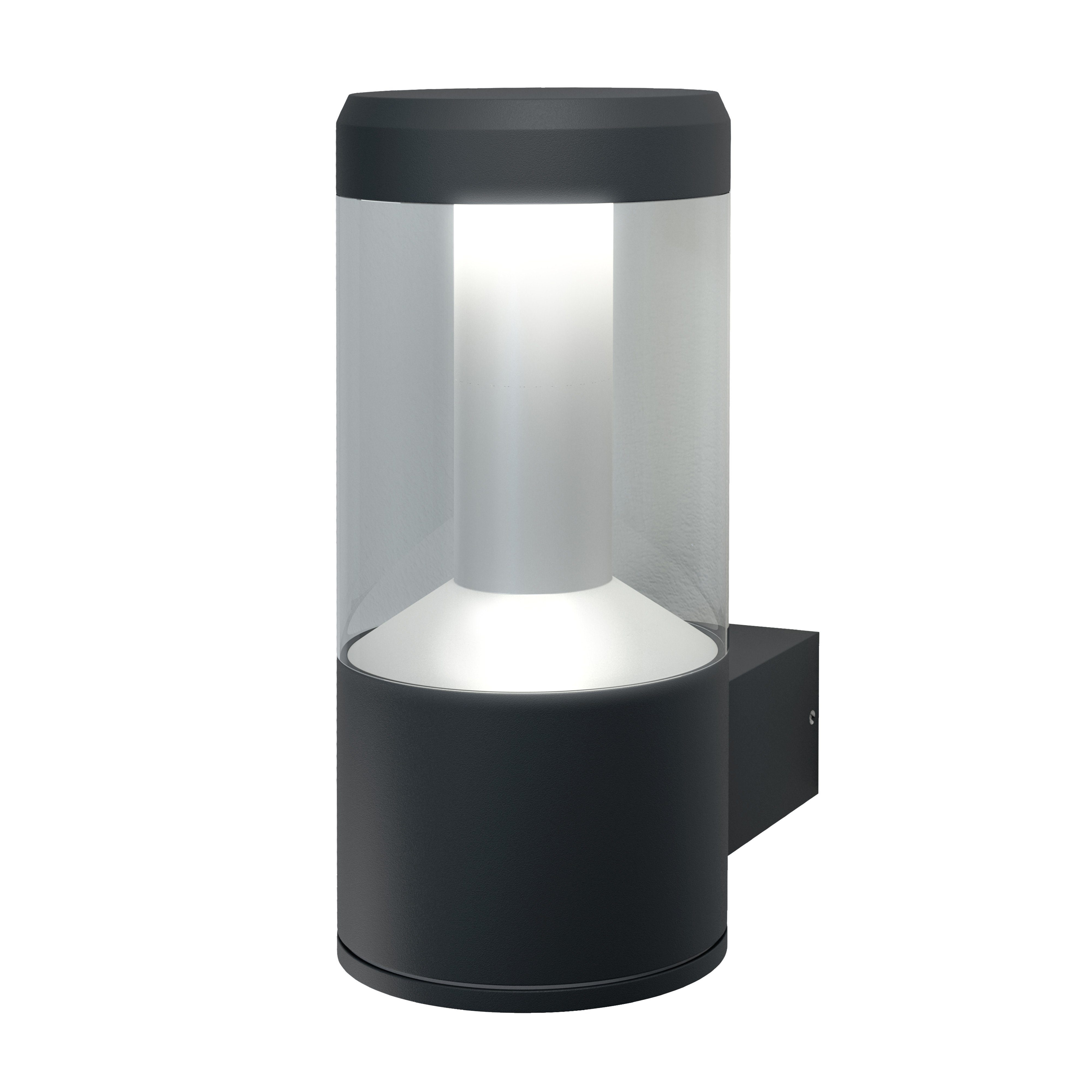 Osram SMART+ Outdoor LED Leuchte, Wandleuchte, Multicolor, 12 W »Modern Lantern Wall RGBW«