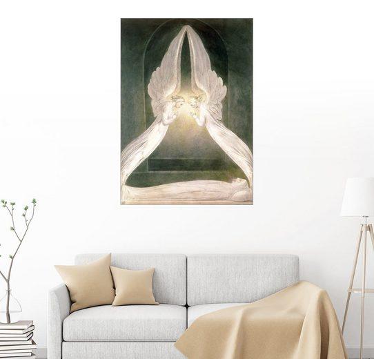 Posterlounge Wandbild, Christus im Grabe, geschützt durch Engel