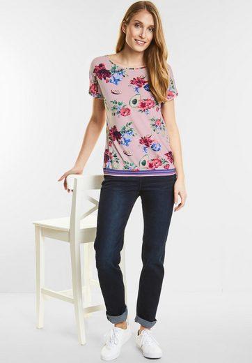 CECIL Blüten und Früchte Shirt
