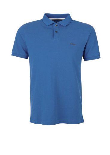 s.Oliver RED LABEL Tall Size: Poloshirt aus Baumwollpiqué