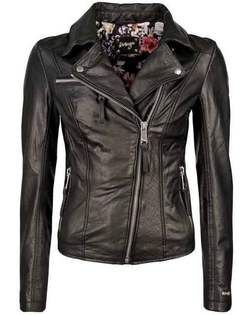 maze -  Biker-Jacke mit Stickereien »Alida«