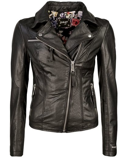 MAZE Biker-Jacke mit Stickereien Alida