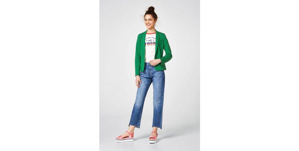 Stretch Jersey Blazer ESPRIT aus Taillierter ESPRIT Taillierter wP7q817