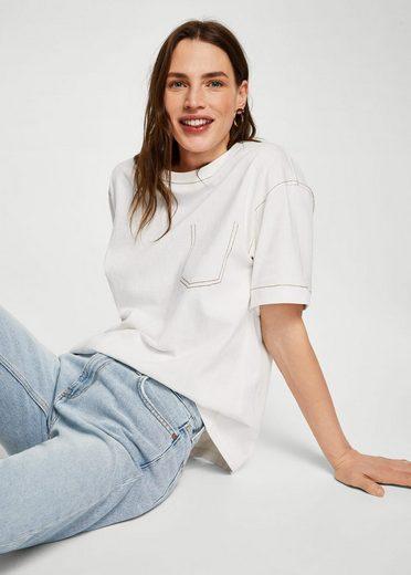 MANGO Straight Jeans Sayana aus Bio-Baumwolle