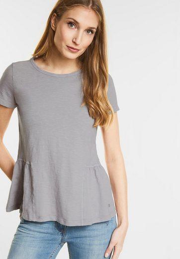 CECIL T-Shirt mit Schößchen